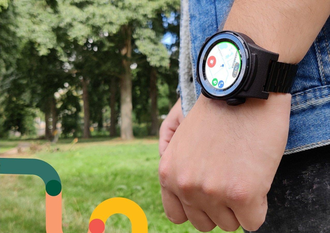 Miles - smartwatch aan